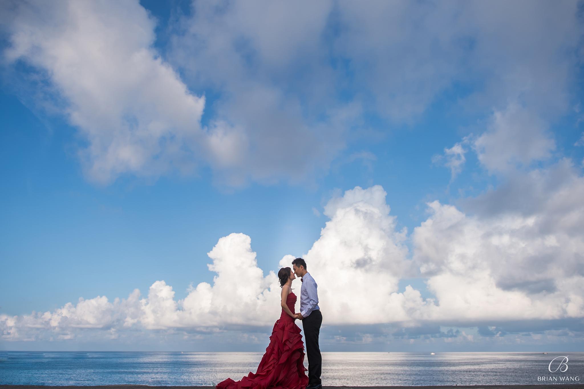 自助婚紗,自主婚紗,海外婚紗,海外婚禮,婚攝Brian Wang
