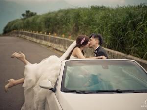 敞篷車婚紗,美好生活古董行婚紗,陽明山婚紗,富錦街婚紗,婚紗推薦