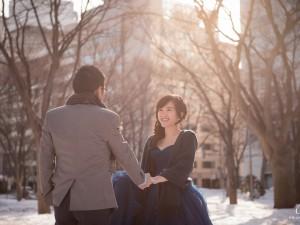 北海道婚紗,北海道海外婚紗,北海道雪景婚紗,北海道雪之美術館婚紗
