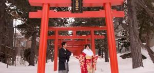 [北海道海外婚紗/日本雪景婚紗] 楷民 + 垂芳 (Hokkaido PreWedding)
