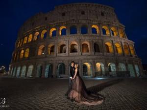 羅馬婚紗,羅馬競技場,天空之城,義大利,Toscana,Roma,Colosseo,