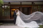 北投文物館婚紗,陽明山婚紗攝影,擎天崗婚紗,小白宮婚紗,花牆,繡球花婚紗