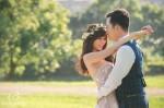 自主婚紗,婚紗攝影,美式婚紗,逆光,自然溫暖,繡球花,繡球花婚紗,陽明山婚紗,黑森林婚紗