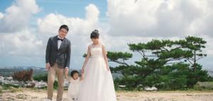 沖繩海外親子寫真/周年紀念海外婚紗 士航 + 清如 (旅行寫真)