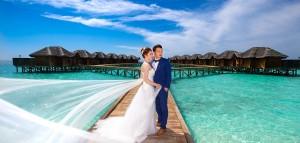 馬爾地夫海外婚紗/Maldives prewedding Larry & Emma(馬爾地夫自助婚紗)